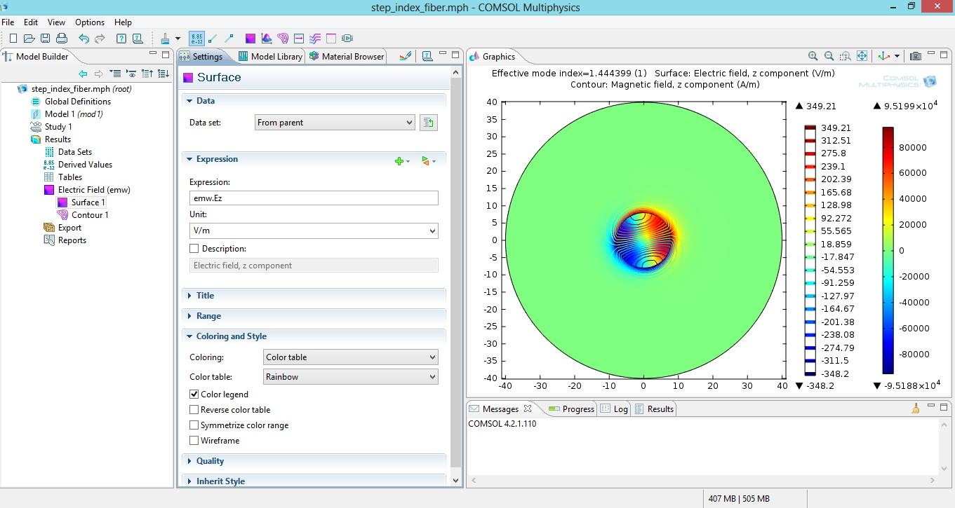 modal analysis of step index single mode fiber optic using comsol rh komunikasioptik wordpress com COMSOL Simulation Icon COMSOL Software